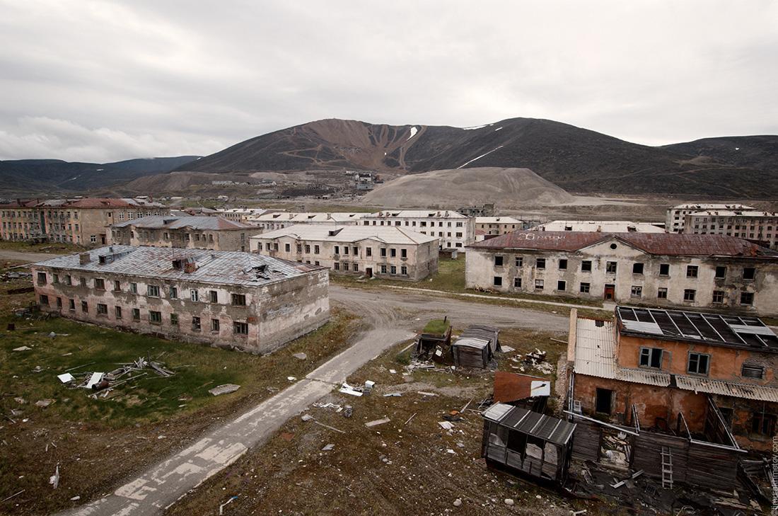 Заброшенный посёлок Иультин