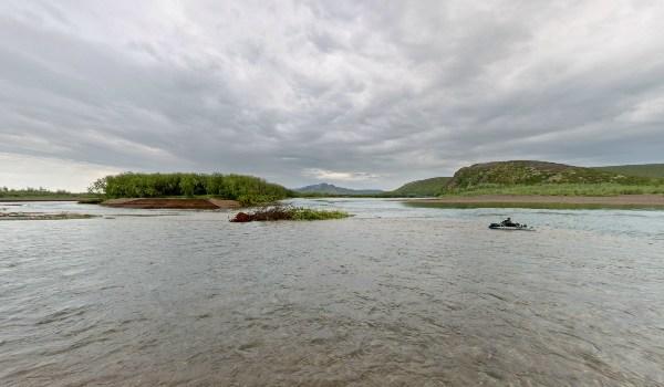 Чукотка, река Мечкерёва