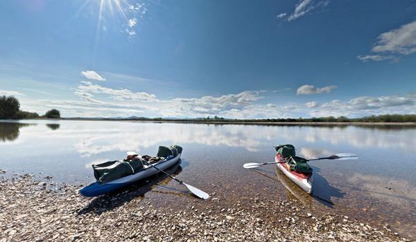Чукотка, река Анадырь