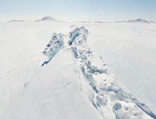 Торосы на озере Эльгыгытгын