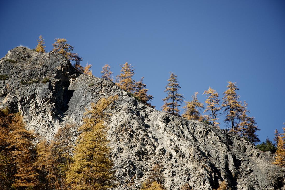Скалы на реке Малый Анюй