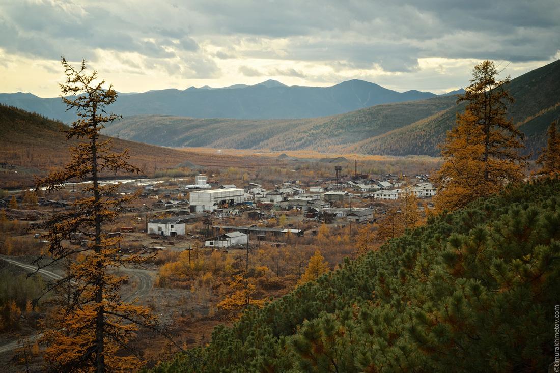 Заброшенный посёлок Алискерово