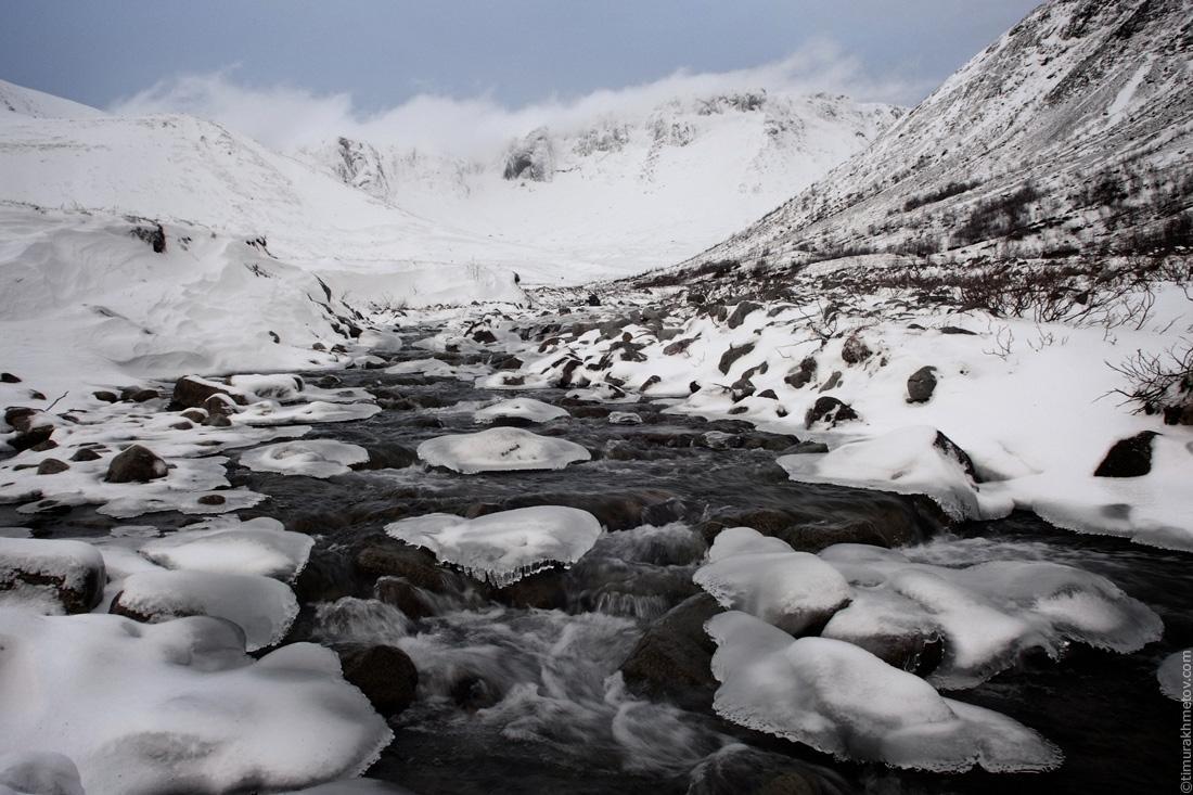 Хибины, ручей Тульйок