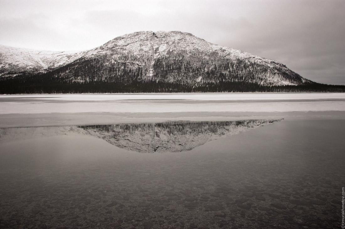 Хибины, озеро Гольцовое