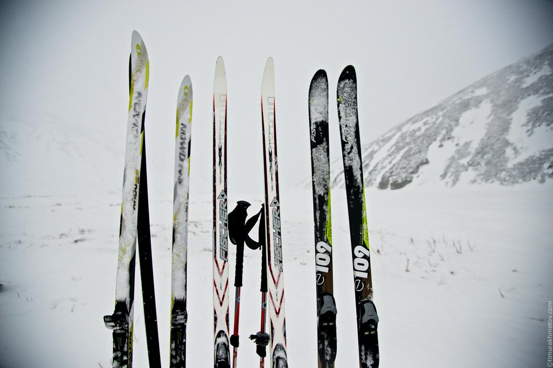 Лыжи для зимнего похода