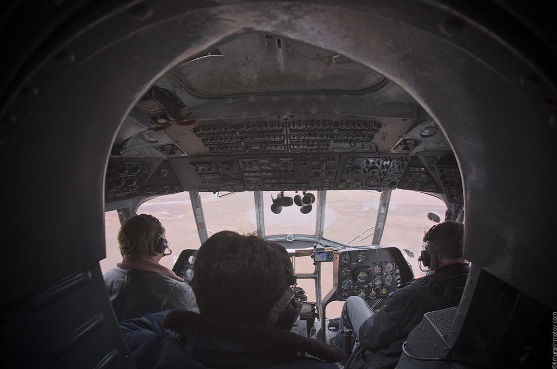 Кабина вертолёта Ми-8