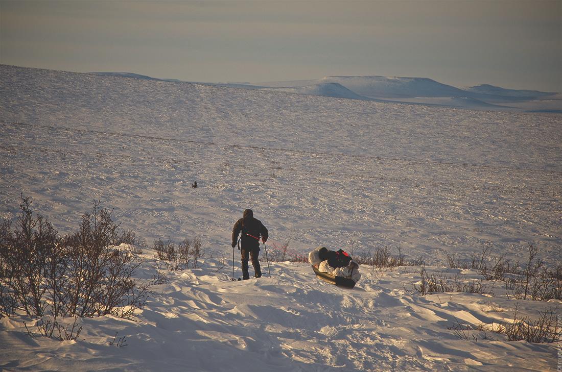 Лыжный поход по Чукотке.