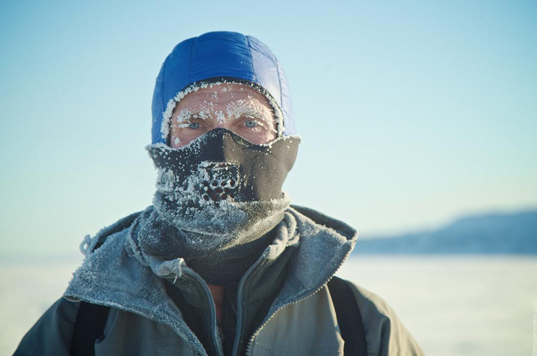 Лицо в изморози