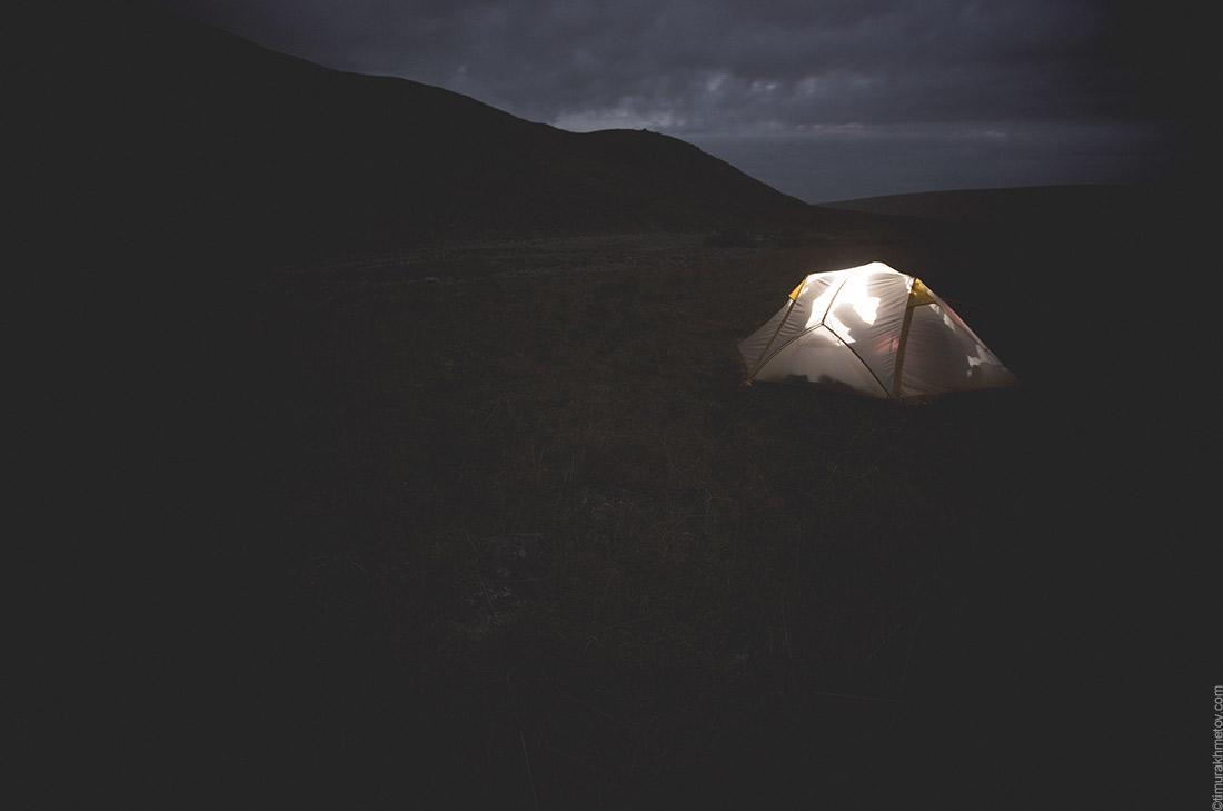 Палатка куполообразной формы