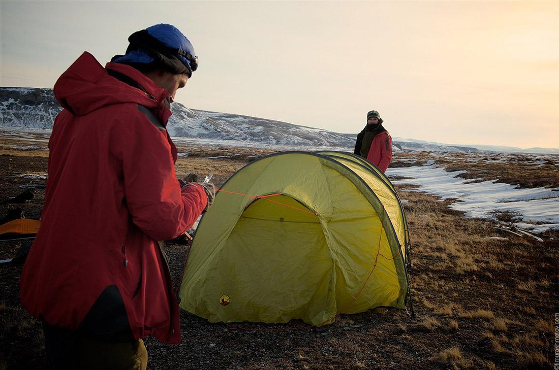 Как выбрать палатку. Палатка-полубочка