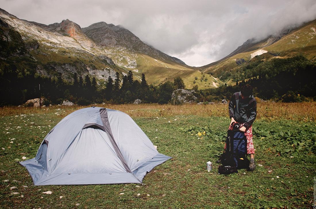 Как выбрать палатку. Юбка у палатки