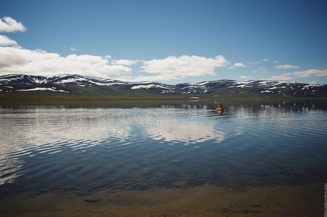 Солнечный день на озере Коолен