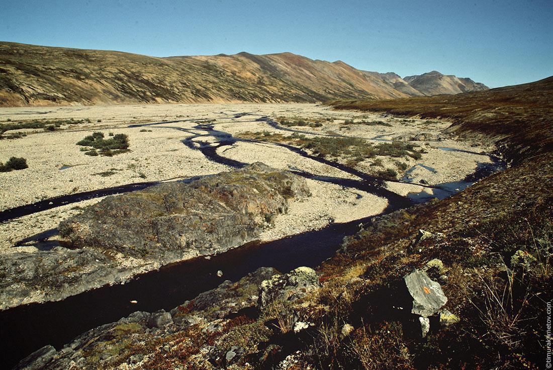 Долина реки Перевальная