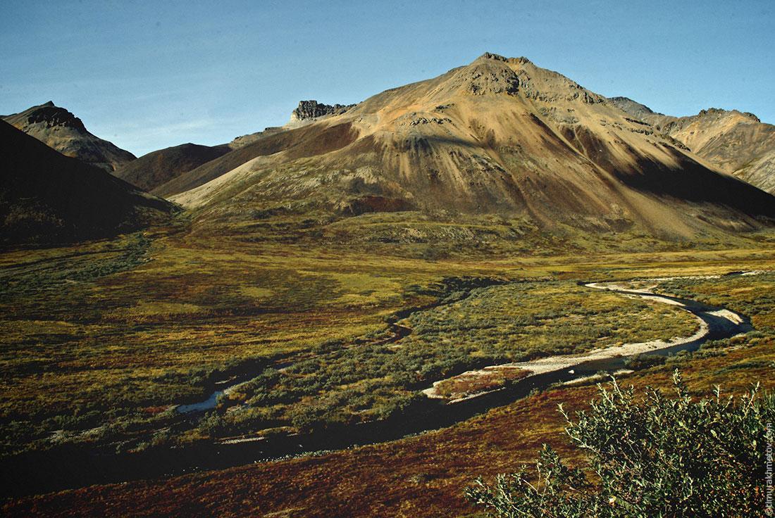 Чукотка, гора Колючая