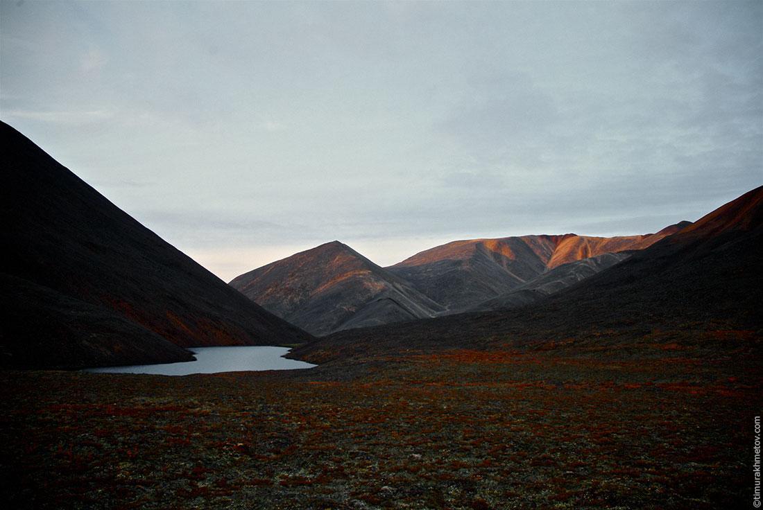 Перевал у горы Звездолётчик