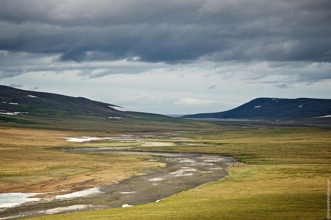 Пересечение реки