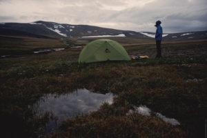 Лагерь в тундре