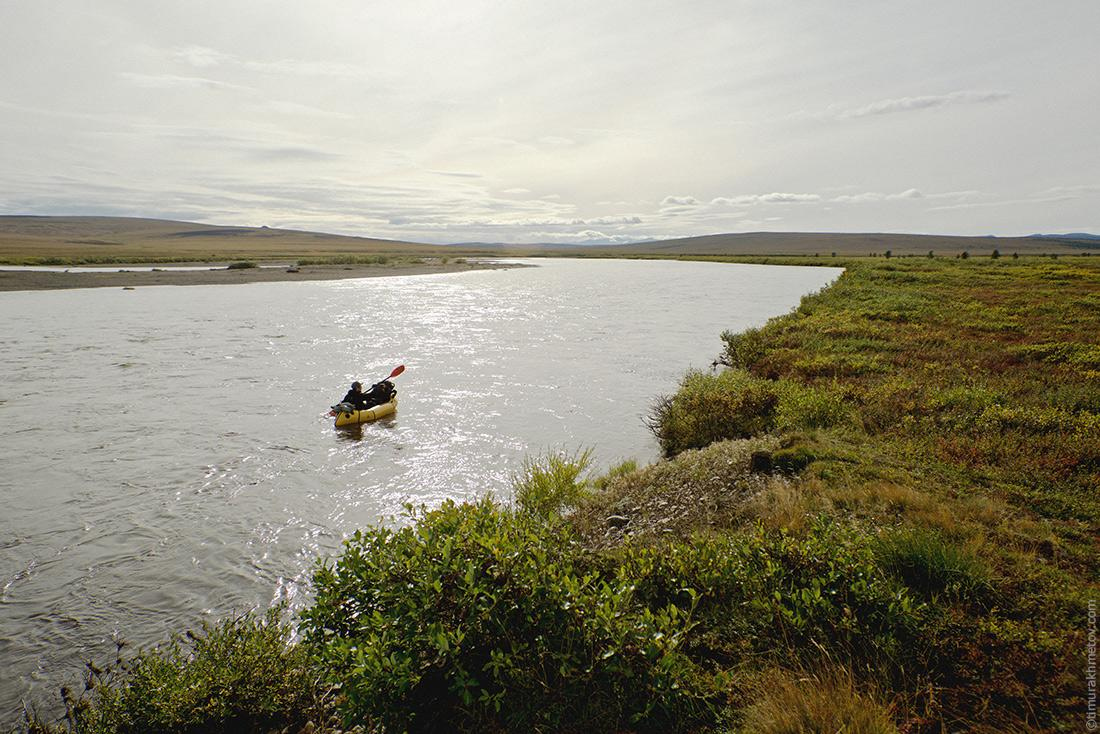 Сплав по реке Малый Анюй