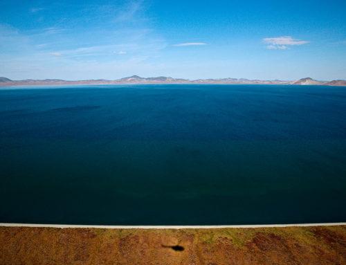 Озеро Эльгыгытгын летом