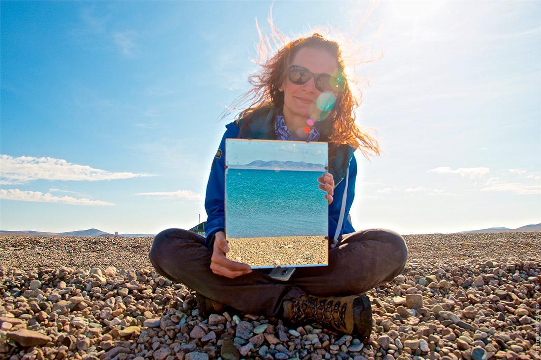 Ульяна — геолог с Петербурга колдует с озером.