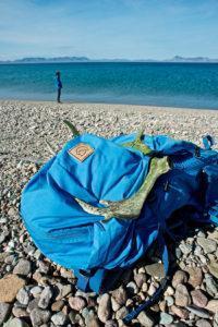 Рюкзак FjallRaven, может быть, первый швед на озере :)))